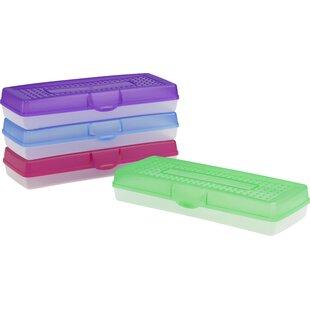 Storex Long Pencil Case (Set of 12)