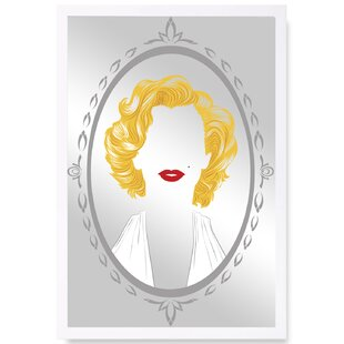 Mercer41 Marilyn Rectangle Wood Wall Mirror