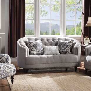 Online Reviews Clarendon Loveseat by World Menagerie Reviews (2019) & Buyer's Guide