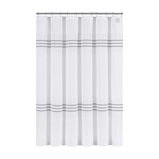 Blaine Cotton Shower Curtain ByHighland Dunes