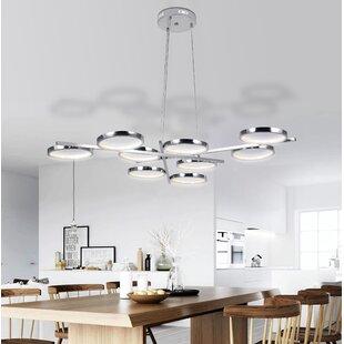 Orren Ellis Bridwell 9-Light LED Novelty Chandelier