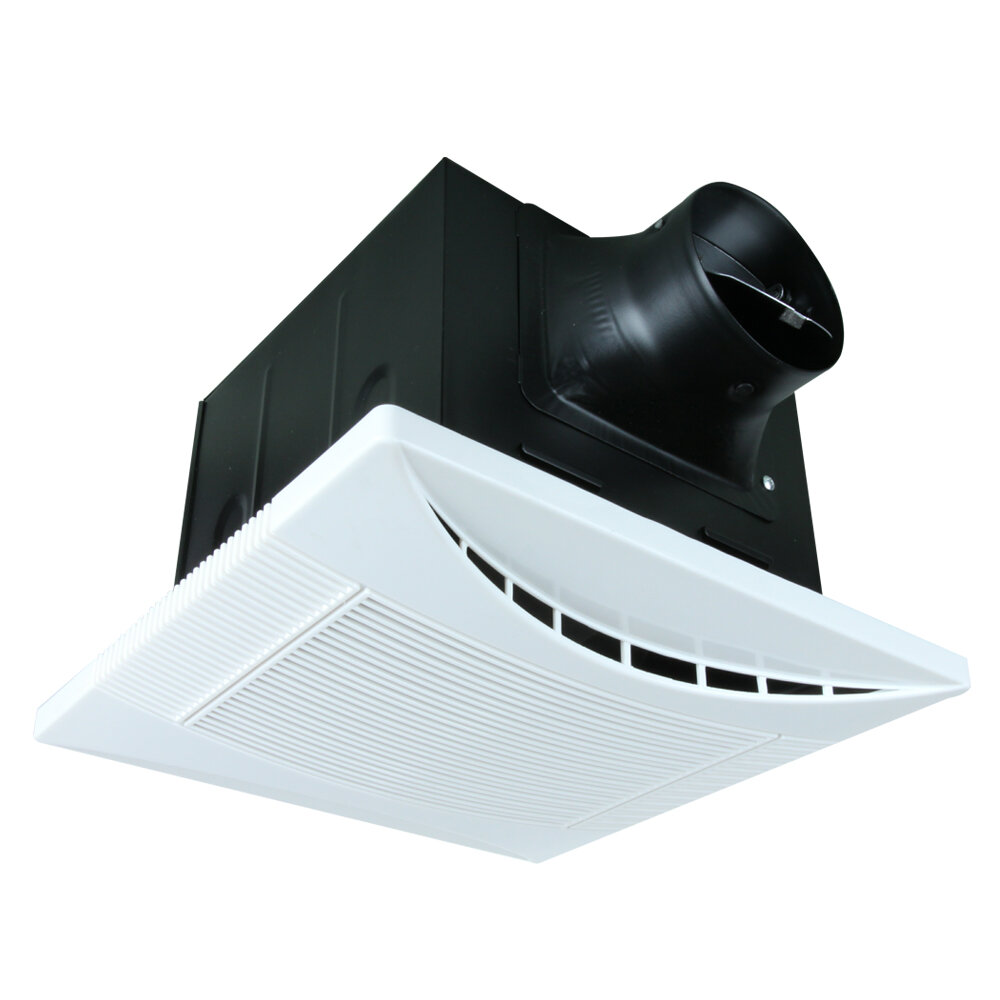 Super Quiet! Silent Bathroom Exhaust Fan 110 CFM 1.0 Sones New
