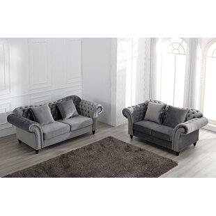 Hosteen 2 Piece Sofa Set By Canora Grey