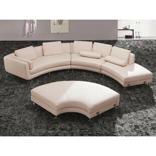 Divani Casa Modular Sectional with Ottoman VIG Furniture