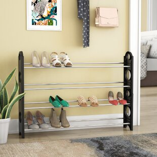 4-Tier 20 Pair Shoe Rack