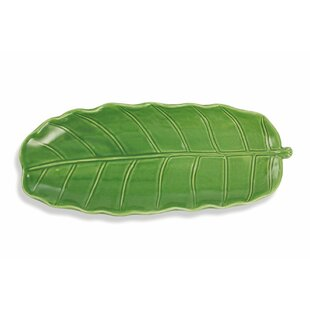 Jungle Small Leaf Serving Tray (Set Of 5) By Villa D'Este Home