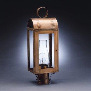 Aquilar Chimney Culvert Top 1-Light Lantern Head by Canora Grey