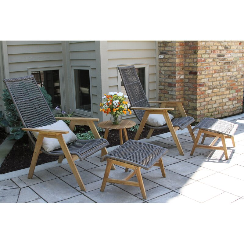 Mistana Largent 5 Piece Seating Group