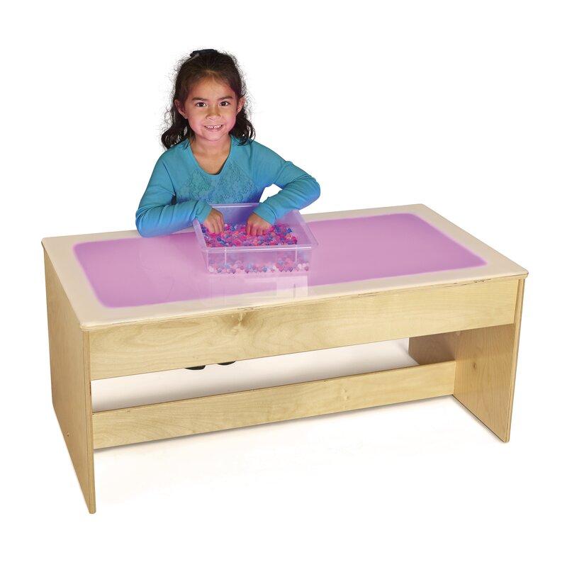 Kids Rectangular Large Light Table