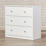 Guilford 3 Drawer 28.5'' W Dresser