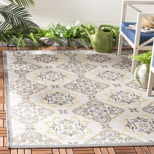 Herefordshire Light Grey/Anthracite Indoor/Outdoor Loomed Rug