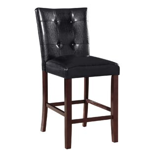 Prasoon Counter Height Upholstered Dining Chair by Red Barrel Studio