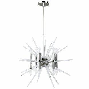 Wrought Studio Aleah 12-Light Sputnik Chandelier