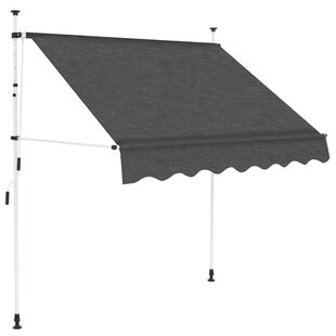 Manual W 2 X D 1m Retractable Patio Awning By Sol 72 Outdoor