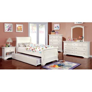 Compare & Buy Salters Sleigh Bed by Harriet Bee Reviews (2019) & Buyer's Guide