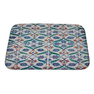 Creek Ancient Traditional Handmade Tiles Bath Rug