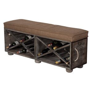 Avon Guild Master Wine Crate Ottoman by 17 S..