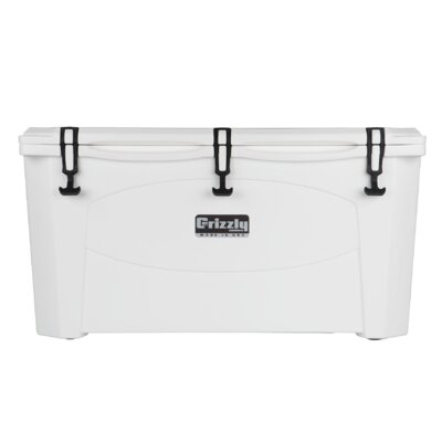 100qt Patio Cooler Grizzly Coolers Color White