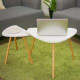 Kehlani 3 Legs Double Nesting Coffee Table