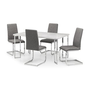 Savana Dining Set With 4 Chairs By Metro Lane