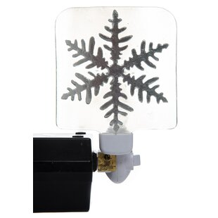 Transpac Christmas Snowflake Night Light