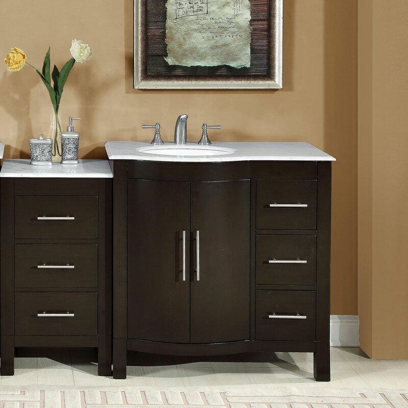 stylish modular wooden bathroom vanity. 54\ Stylish Modular Wooden Bathroom Vanity