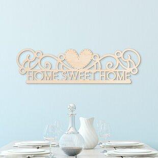 Home Sweet Wall Decor