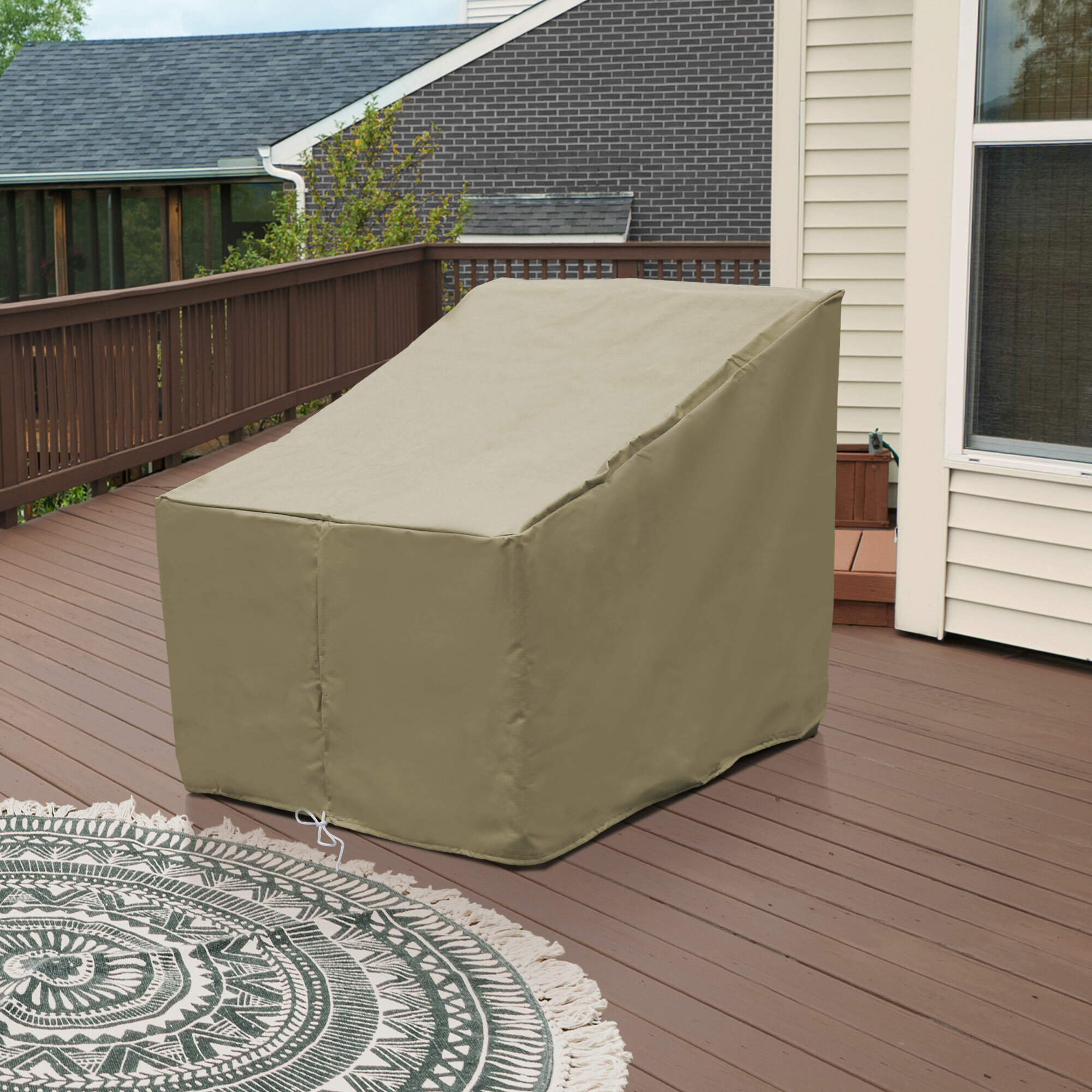 Water Resistant Patio Chair Cover