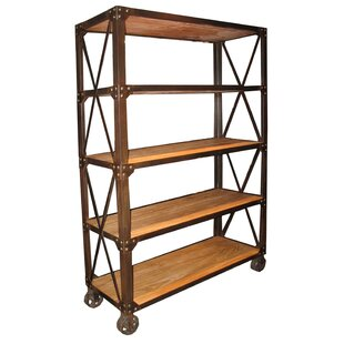 Old Elm Etagere Bookcase