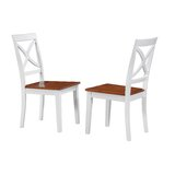 Troutt Solid Wood Dining Chair (Set of 2) by August Grove®