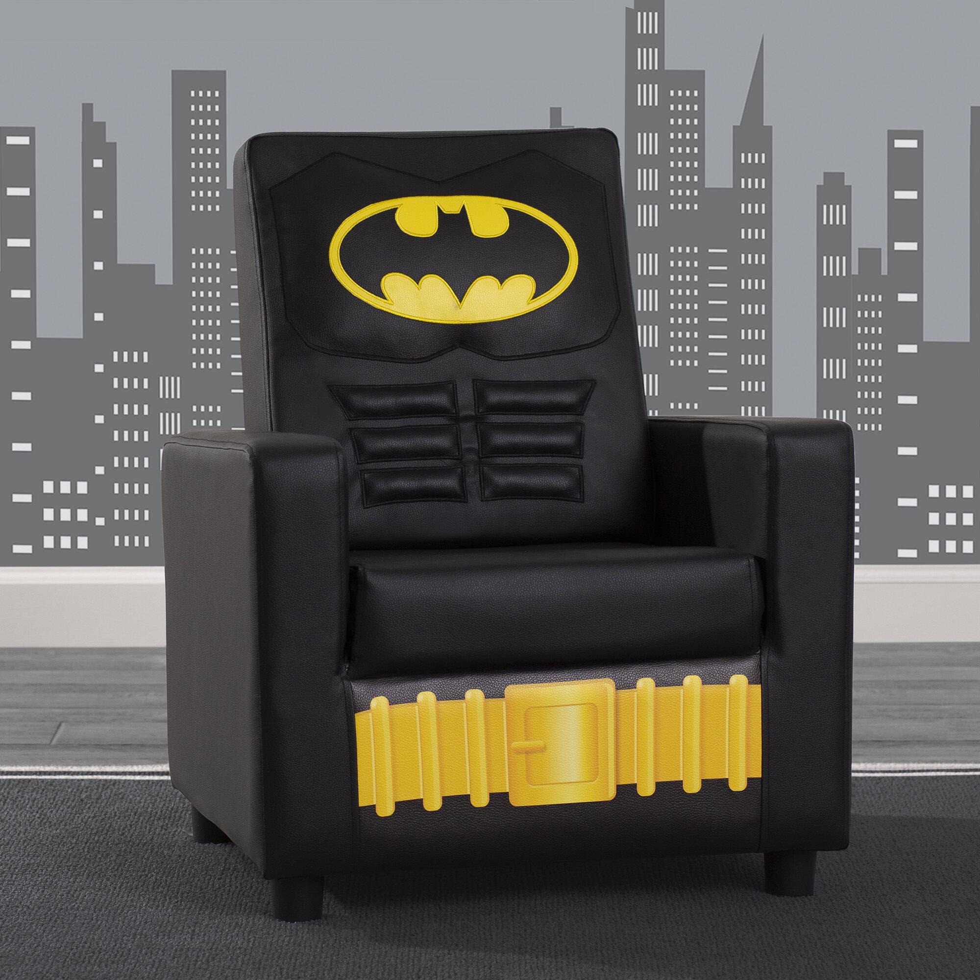 Delta Children Batman Dc Comics Kids Faux Leather Chair Reviews Wayfair