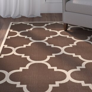 Herefordshire Dark Brown Indoor/Outdoor Area Rug