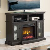 Seadrift TV Stand for TVs up to 50 with Electric Fireplace Included by Charlton Home®