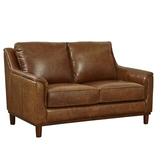 Knowles Leather Loveseat