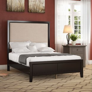 Portside Upholstered Panel Bed by Three Posts
