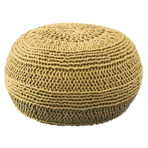 Ramon Color Cable Knit Ottoman by Viv + Rae