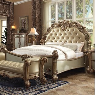 Astoria Grand Welles Upholstered Panel Bed