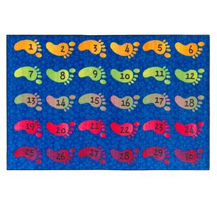 Best Reviews Counting Feet Kids Rug ByFlagship Carpets