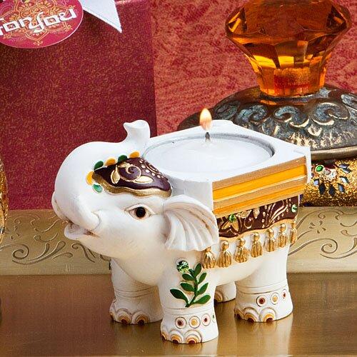 Lucky Elephant Tealight Holder Wayfair