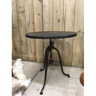 Hostetler Folding Iron Side Table By Sol 72 Outdoor