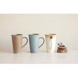 Amalia 3 Piece Tea Bag Slot Coffee Mug Set