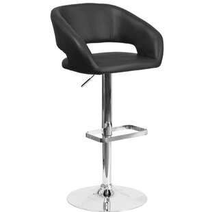 Nolte Adjustable Height Swivel Bar Stool ..
