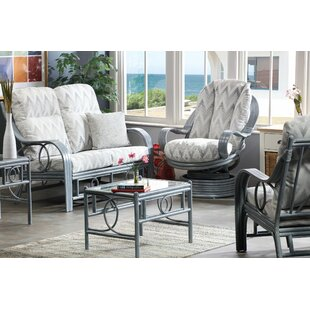 Freeze 5 Piece Conservatory Sofa Set By Beachcrest Home