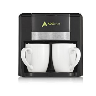2 Cup BFF Coffee Maker by AdirChef Comparison