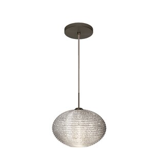 Pape 1-Light Globe Pendant by Besa Lighting
