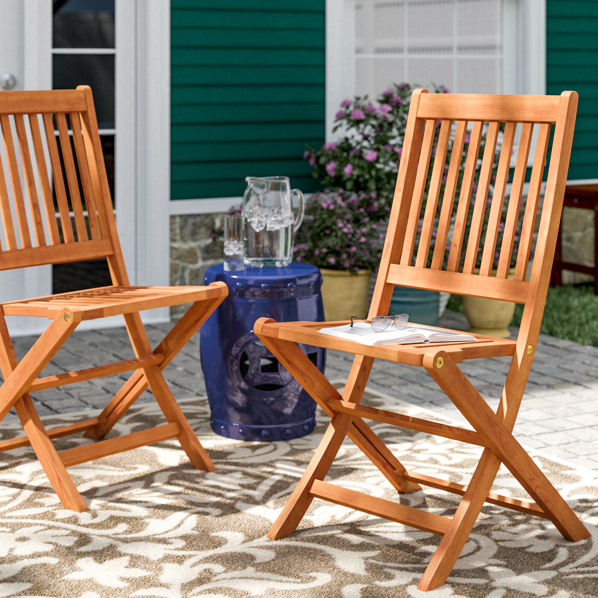 Cadsden Patio Folding Chair