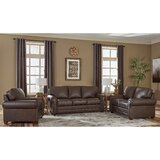 Lexus 3 Piece Leather Sleeper Living Room Set by 17 Stories