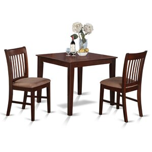 Lennox 3 Piece Dining Set by Alcott Hill