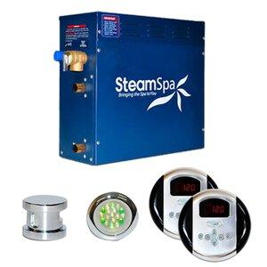 SteamSpa Royal 7.5 KW QuickStart Steam Bath Generator Package