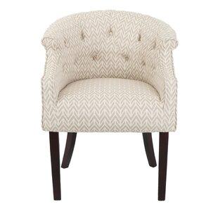 Inglesbatch Tufted Barrel Chair by Ebern Designs
